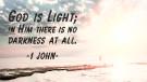 God is Light - 1 John